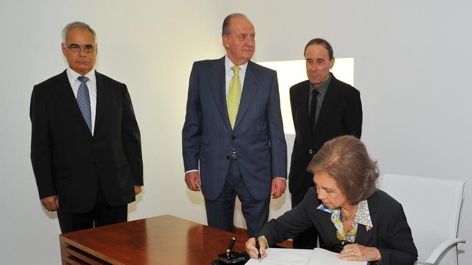 Inauguración de la Fundación Cristino de Vera-Espacio Cultural CajaCanarias
