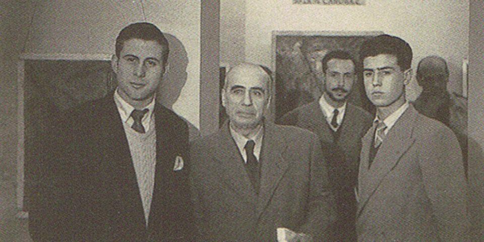 Cristino de Vera, Vázquez Díaz y Rafael Canogar
