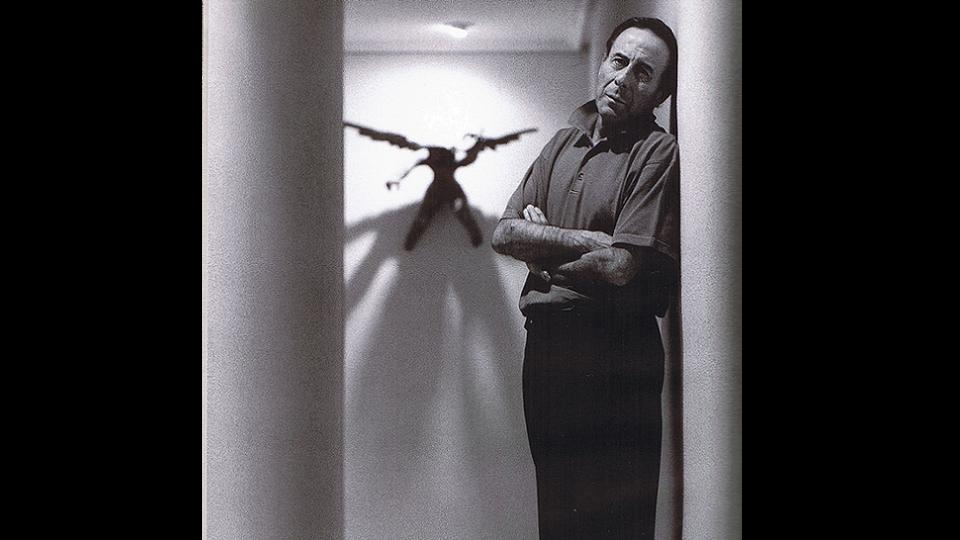 Cristino de Vera en Los Silos, retratado por Ricardo Marquerie