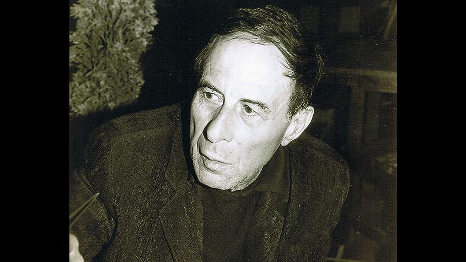 Cristino de Vera, retratado por Sonia Hernández