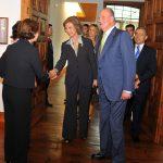 Los Reyes visitan la Fundación Cristino de Vera